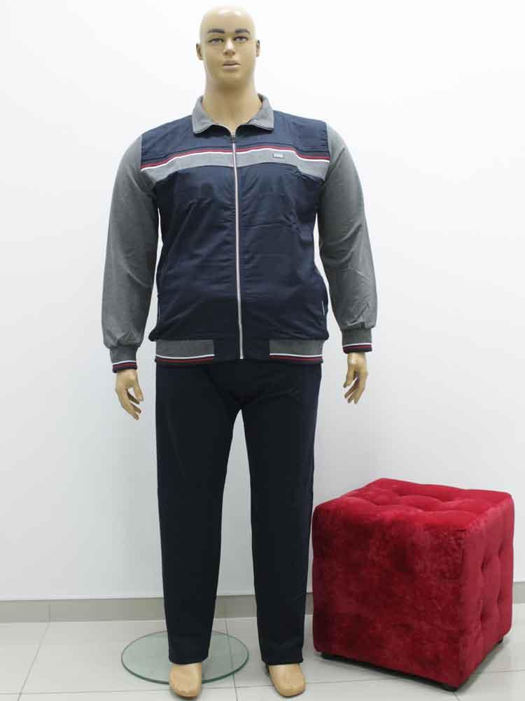 Оптом Женские лосины в джинсовом стиле - на флисе артикул